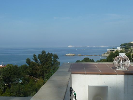 In Roses Almadraba, luxury house, for rent, with view on the sea and jacuzzi near of beach  ref 160