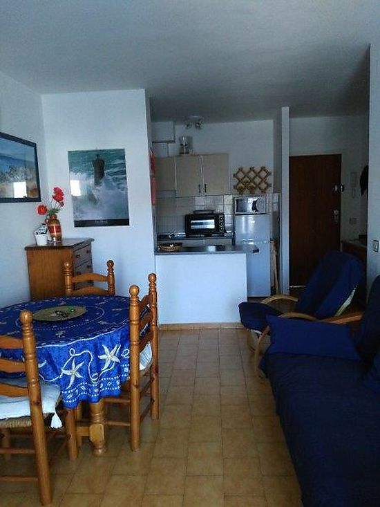 Empuriabrava, for sale, apartment with private mooring , parking place and canal view